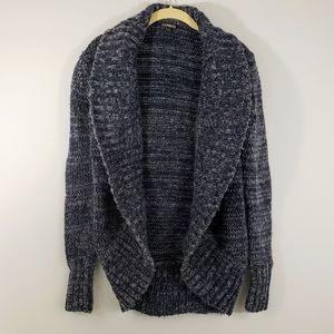 Express wool cashmere blend cardigan sweater